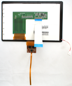 1-insert-fpc-in-LCD flip connect